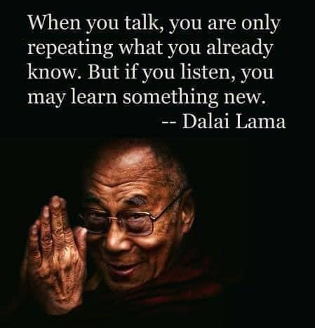 Imparare Qualcosa - Dalai Lama