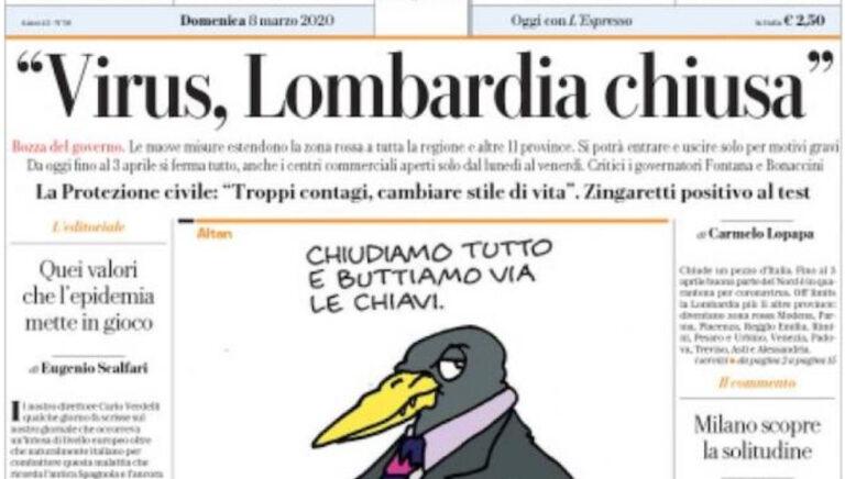 Lombardia Chiusa Covid